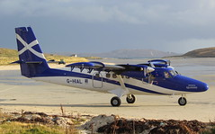 G-HIAL (GSairpics) Tags: ghial twinotter viking loganair scottishgovernment aircraft aeroplane airplane aviation transport travel island islandofbarra scotland