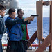 U.S. Sailors a live-fire exercise aboard the USS Boxer