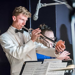 "<b>DSC03054</b><br/> Luther's Jazz Band and Jazz Orchestra play at Marty's over Homecoming Weekend. October 4th, 2019. Photo by Anthony Hamer.<a href=""//farm66.static.flickr.com/65535/49056105176_3997016bbe_o.jpg"" title=""High res"">&prop;</a>"
