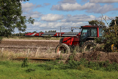 Race to the North (Andrew Shenton) Tags: 91109 lner balne ecml class91 red tractor