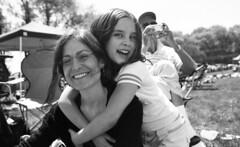 Maud and Brooke - May 2006 (neilsonabeel) Tags: nikonn90s nikon nikkor film analogue family blackandwhite