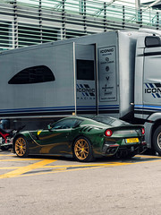 Dream Spec (Mattia Manzini Photography) Tags: ferrari f12 tdf f12tdf supercar supercars cars car carspotting carbon nikon d750 v12 green automotive automobili auto automobile autodromo monza monzahistoric gold hypercar exotics exotic