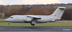 "ZE707 RAF BaE 146-200(QC) in the circuit as ""Northolt 99"" for most of the afternoon at Prestwick.. 12/11/19 (BS Images.) Tags: ze707 bae 146 146200 raf royalairforce military aircraft airport ayrshire aviation egpk glasgowprestwick gpa prestwick prestwickairport pik southayrshire scotland"