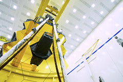 The view from beneath... (James Webb Space Telescope) Tags: jwst webb jameswebbspacetelescope telescope nasa hubble hubblessuccessor space bestof recentbestof