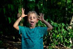 Children of love (Vagabundina) Tags: child kid boy kids play forest love future face person personality portrait 35mm nikon sunset goldenhour park wood nature outdoor