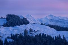 Emmental (chriscom) Tags: switzerland emmental dusk nature winter mountains landscape