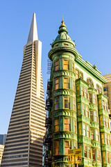 San Francisco; Two Times (drasphotography) Tags: san francisco california usa architecture architektur travelphotography building transamerica pyramid drasphotography nikon d810 cityscape urban looking up