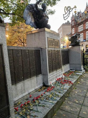 War memorial, leicester city centre