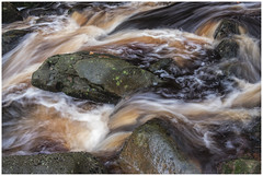 Autumn at Burbage Brook (Tom Coulson) Tags: water autumn colours rain torrent swirling rocks