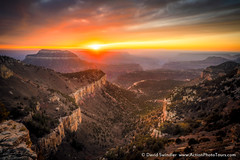 Colors Delivered (David Swindler (ActionPhotoTours.com)) Tags: grandcanyon kanab northrim canyon clouds drama light sunset