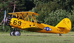 Naval Aircraft Factory N3N-3 Yellow Peril n° 2909  ~ F-AZNF / 69 (Aero.passion DBC-1) Tags: 2019 meeting fertéalais dbc1 david biscove aeropassion avion aircraft aviation plane airshow naval factory n3n yellow peril ~ faznf