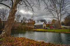 Old Mill Nov 12, 2019 (Bob G. Bell) Tags: mil oldmil greenville wv pond fall autumn bobbell nikond800