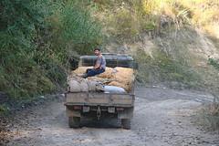 Potato truck (Andrea Kirkby) Tags: arslanbob kyrgyzstan potato harvest truck