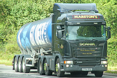 Scania G450 Tanker Marstons FP64 BOH (SR Photos Torksey) Tags: transport truck haulage hgv lorry lgv logistics road commercial vehicle freight traffic scania tanker marstons