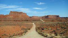 DSC03100 (Aubrey Sun) Tags: valley gods road desert ut utah red rock sandstone mesa butte spire