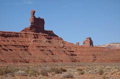 DSC03099 (Aubrey Sun) Tags: valley gods road desert ut utah red rock sandstone mesa butte spire