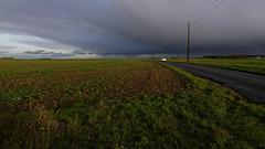 Au loin, la pluie (mifranc91) Tags: z6cielbuno nikon z6 z 2470 nuages clouds pluie rain route road