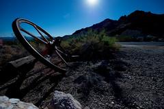 Lost Cog (Nocturnal Kansas) Tags: night nocturnal moon full d800 nikon led1 protomachines longexposure lightpainting nightphotography nevada desert mining mine