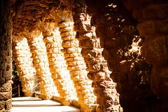 Leaks of Light (dlerps) Tags: amount barcelona catalanya catalunya city daniellerps es espana lerps photography sony sonyalpha sonyalpha99ii sonyalphaa99mark2 sonyalphaa99ii spain spanien urban httplerpsphotography lerpsphotography shadow columns sunshine sunlight light tunnel carlzeiss planar5014za planart1450 architecture parcgüell park stones bricks carlzeissplanar50mmf14ssm gaudi antonigaudi