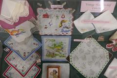 Old Handkerchiefs (en tee gee) Tags: hankerchiefs old vintage collection exhibit