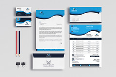 STATIONARY DESIGN (Shuvro45) Tags: business card cards mockup customizable envelope letter professional stationary
