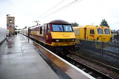 DB Cargo UK 90020 (ARDcoasters) Tags: db cargo uk ews class90 electric locomotive british rail railtour retford nottinghamshire england ecml eastcoastmainline trackmachine