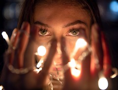 Enlightened (PalanqueStephane) Tags: portrait color couleur lumiere light streetphotography photoderue eyes yeux model modele artistic art