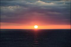 Another Sunrise   Blanes, Catalonia (Flemming J. Gade) Tags: sunrise sun clouds sky sea mediterranean blanes catalonia