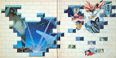 The Wall - Gatefold (epiclectic) Tags: 1979 pinkfloyd gatefold graphic illustration epiclectic vintage vinyl record album cover art retro music sleeve collection lp epiclecticcom geraldscarfe