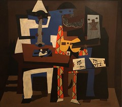 1921, Pablo Picasso, Three Musicians (R.M.Lenox) Tags: pablopicasso spanish museum painting accuratecolor highresolution chronology timeline museumofmodernart moma photograph modernart