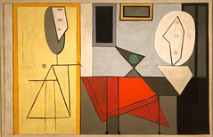 1928, Pablo Picasso, The Studio (R.M.Lenox) Tags: pablopicasso spanish museum painting accuratecolor highresolution chronology timeline museumofmodernart moma photograph modernart