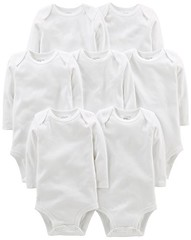 Simple Joys by Carter's Baby 7-Pack Long-Sleeve Bodysuit (Shopping Guide 7) Tags: 7pack baby bodysuit by carters joys longsleeve simple