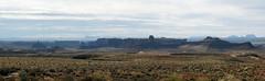 Untitled_Panorama2 (Aubrey Sun) Tags: valley gods road desert ut utah red rock sandstone mesa butte spire