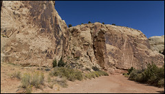 _SG_2019_10_0255_IMG_4293 (_SG_) Tags: ferien reise travel trip roundtrip round usa america amerika us vereinigte staaten vereinigtestaaten west coast united states westcoastoftheunitedstates westcoast westküste capitol reef national park utah wayne wonderland fremont river navajo sandstone cliffs dome formations capital gorge