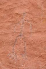The Thin Man (W9JIM) Tags: utah kanab w9jim rockart pictograph paria 24105l ef24105mmf4lisusm 5d4 canoneos5dmarkiv 105mm