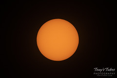 November 11, 2019 - Mercury transits the sun. (Tony's Takes)