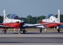 166083 T-6B TAW-5 E-083 (RedRipper24) Tags: t6btexanii navalaviation beechcraftt6 militarytraineraircraft navyaircraft