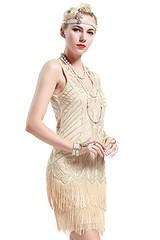 BABEYOND Women's Flapper Dresses 1920s V Neck Beaded Fringed Great Gatsby Dress (Shopping Guide 7) Tags: 1920s babeyond beaded dress dresses flapper fringed gatsby great neck womens