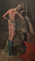 1905, Pablo Picasso, The Actor (R.M.Lenox) Tags: pablopicasso spanish metropolitanmuseumofart painting museum photograph highresolution accuratecolor