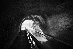 Tunnel (JCTopping) Tags: 6d canal 19mm tunnel pawpaw brick alleganycounty canon blackandwhite maryland co oldtown unitedstatesofamerica
