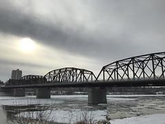 Traffic Bridge Winter (daryl_mitchell) Tags: saskatoon saskatchewan canada 2018 downtown meewasin trail traffic bridge river