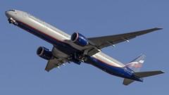VQ-BQD Aeroflot - Russian Airlines Boeing 777-300ER (Zhuravlev Nikita) Tags: spotting elizovo kamchatka uhpp pkc boeing boeing777 777 b77w 77w aeroflot afl su