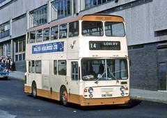 South Yorkshire PTE: 792 (CWE792N) in Sheffield (Mega Anorak) Tags: bus daimler fleetline crg6lxb ecw southyorkshire pte sheffield
