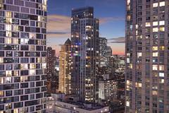 Twilight Skyline (acrcoupe) Tags: newyork longexposure skyline df skyscraper night