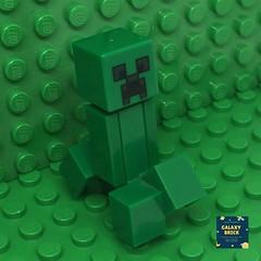 LEGO Creeper Minifigure Minecraft (galaxybrick) Tags: lego legominecraft minifigures minifig legominifigures minecraft