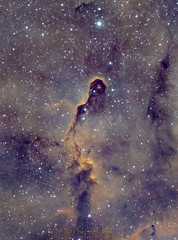 The Elephant's trunk nebula (1rst try) (philippeoros) Tags: astrometrydotnet:id=nova3737435 astrometrydotnet:status=solved
