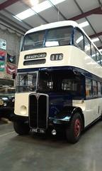 OWE 116 - Sheffield JOC 116 - AEC Regent III, Roe H33/25R. New 1952 (Belmont_21988uk) Tags: sytm rotherham owe116 aec regentiii roe sheffieldjoc