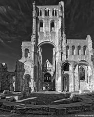 L'Abbaye des Jumièges / Normandy (Mike Reichardt) Tags: labbeyedejumieges abtei klöster kloster churches architecture architektur ruins ruine gebäude building france frankreich blancetnoir blackwhite bianconegro monochrome schwarzweiss normandie normandy