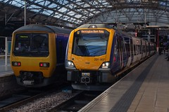 Northern 323233 & 331007 (Mike McNiven) Tags: arriva railnorth northern liverpool limestreet manchesterairport manchester airport crewe warrington bankquay caf civity emu electric multipleunit merseyside
