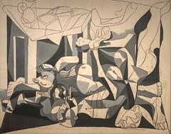 1945, Pablo Picasso, The Charnel House (R.M.Lenox) Tags: pablopicasso spanish museumofmodernart moma accuratecolor highresolution painting museum chronology timeline
